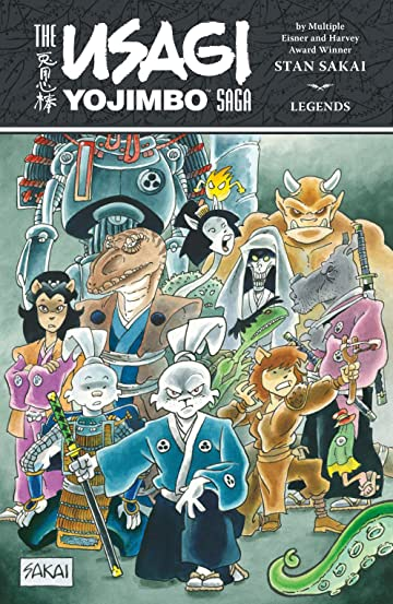 The Usagi Yojimbo Saga: Legends