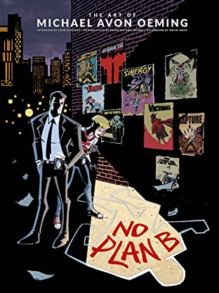 The Art of Michael Avon Oeming: No Plan B