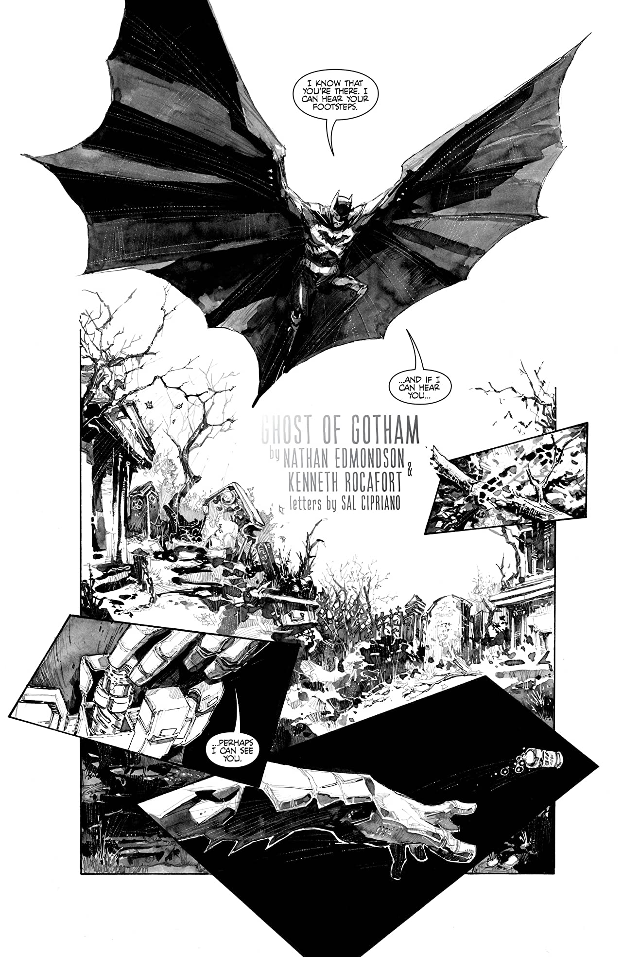 Batman Black & White (2013-2014) #4 (of 6)