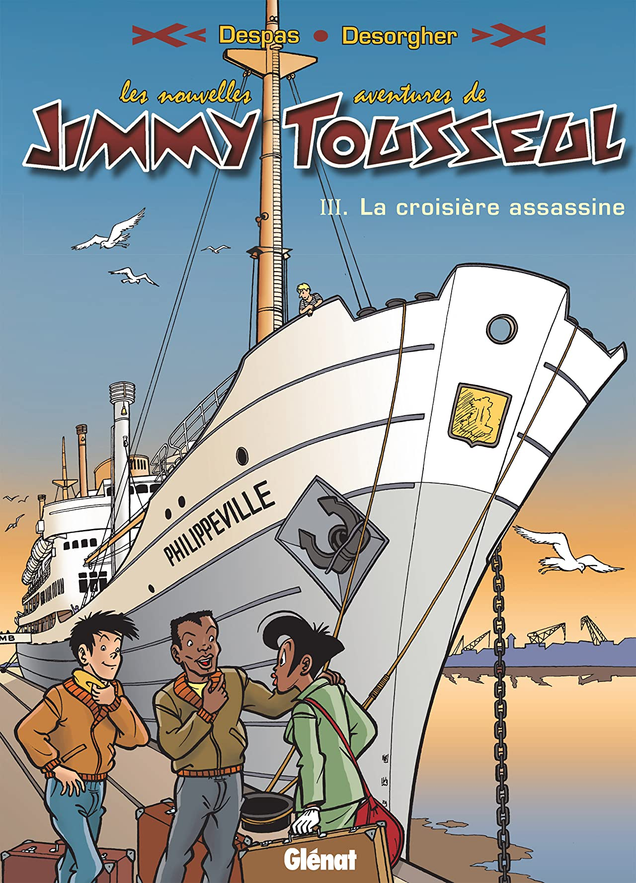 Les nouvelles aventures de Jimmy Tousseul Vol. 3: La croisière assassine