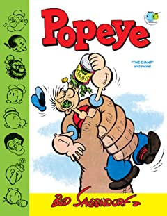 "Popeye Classics Tome 11: ""The Giant"" and More!"