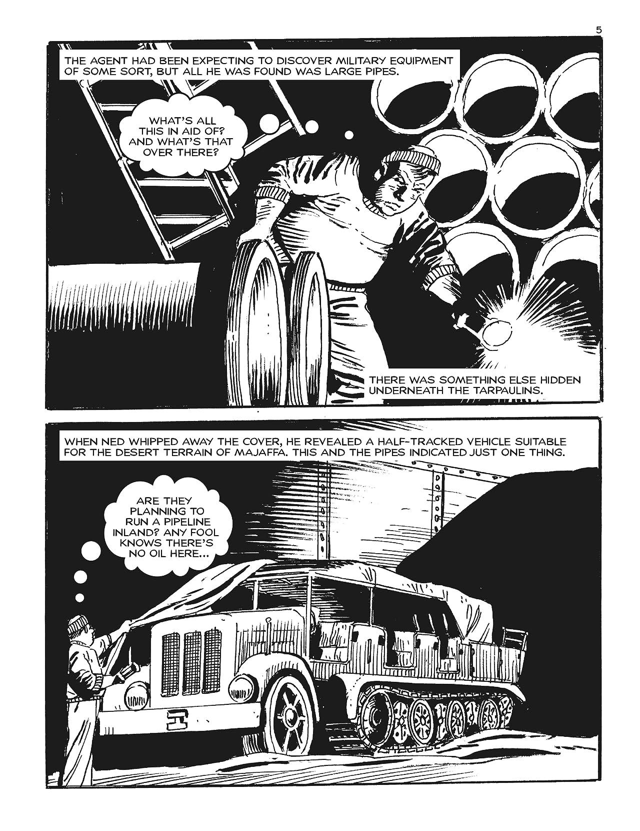 Commando #5037: Danger In The Desert