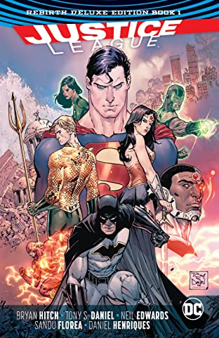 Justice League: The Rebirth Deluxe Edition - Book 1