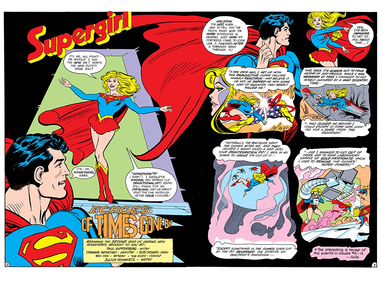 The Daring New Adventures of Supergirl (1982-1984) Vol  2 - Comics by  comiXology: Web UK