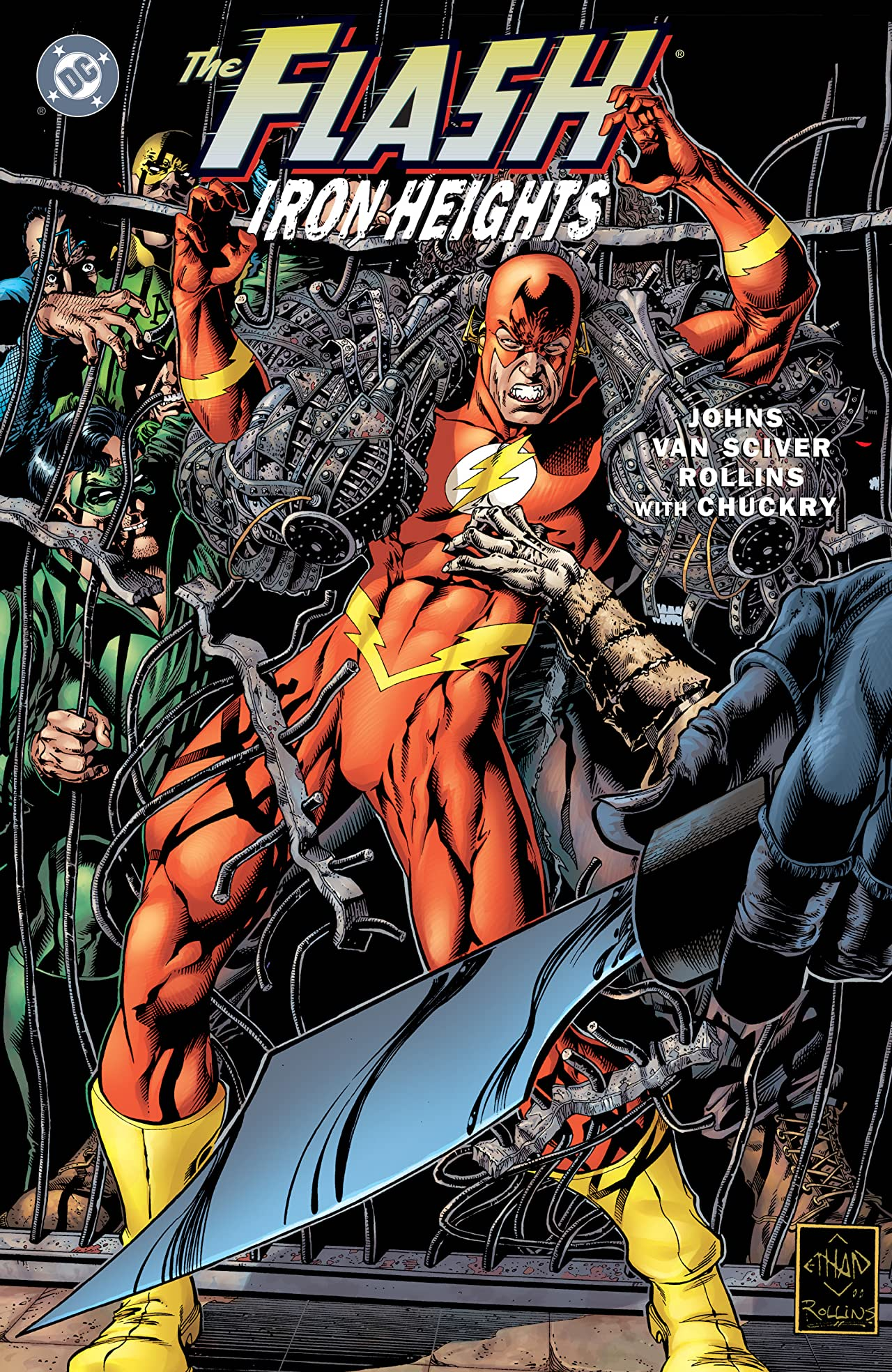 The Flash: Iron Heights (2001) #1
