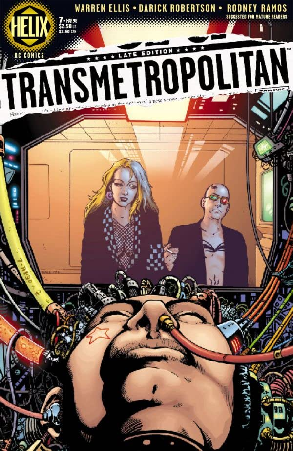 Transmetropolitan #7