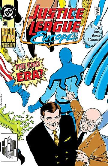 Justice League Europe (1989-1993) #36