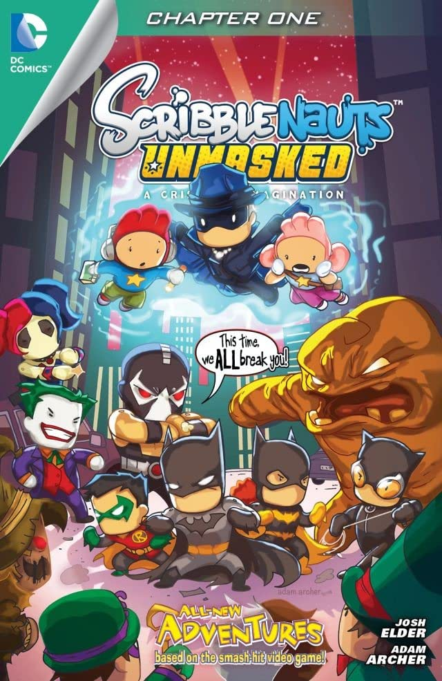 Scribblenauts Unmasked: A Crisis of Imagination #1
