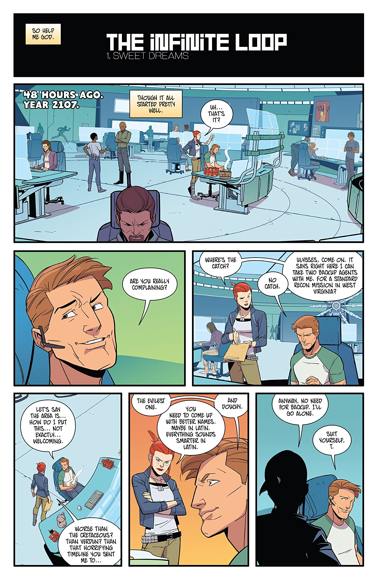 Infinite Loop: Nothing But The Truth #1