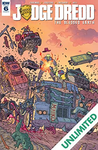 Judge Dredd: The Blessed Earth #6