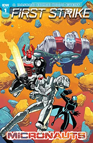 Micronauts: First Strike #1