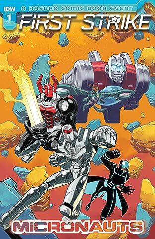 Micronauts: First Strike No.1