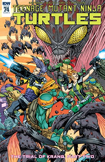 Teenage Mutant Ninja Turtles #74