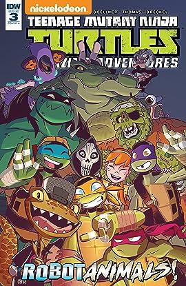 Teenage Mutant Ninja Turtles: Amazing Adventures: Robotanimals! #3 (of 3)