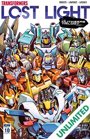 Transformers: Lost Light #10