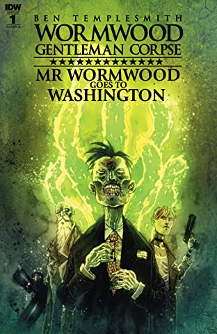 Wormwood, Gentleman Corpse: Mr. Wormwood Goes to Washington No.1 (sur 3)