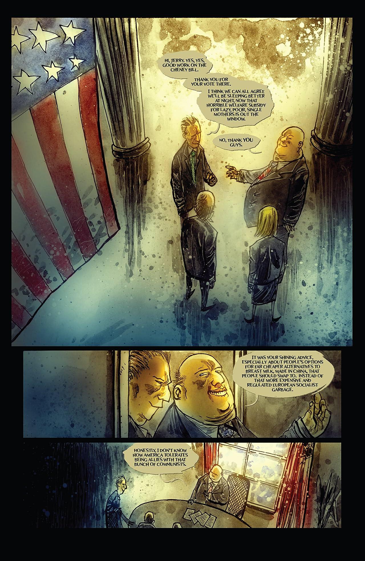 Wormwood, Gentleman Corpse: Mr. Wormwood Goes to Washington #1 (of 3)