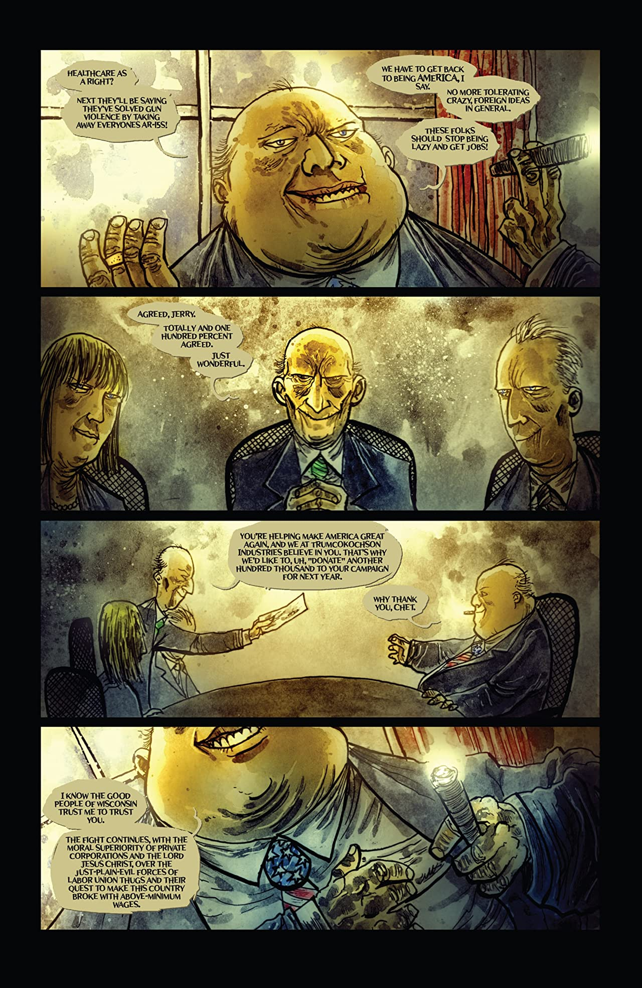 Wormwood, Gentleman Corpse: Mr. Wormwood Goes to Washington #1 (of 3)