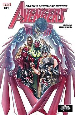 Avengers (2016-2018) #11