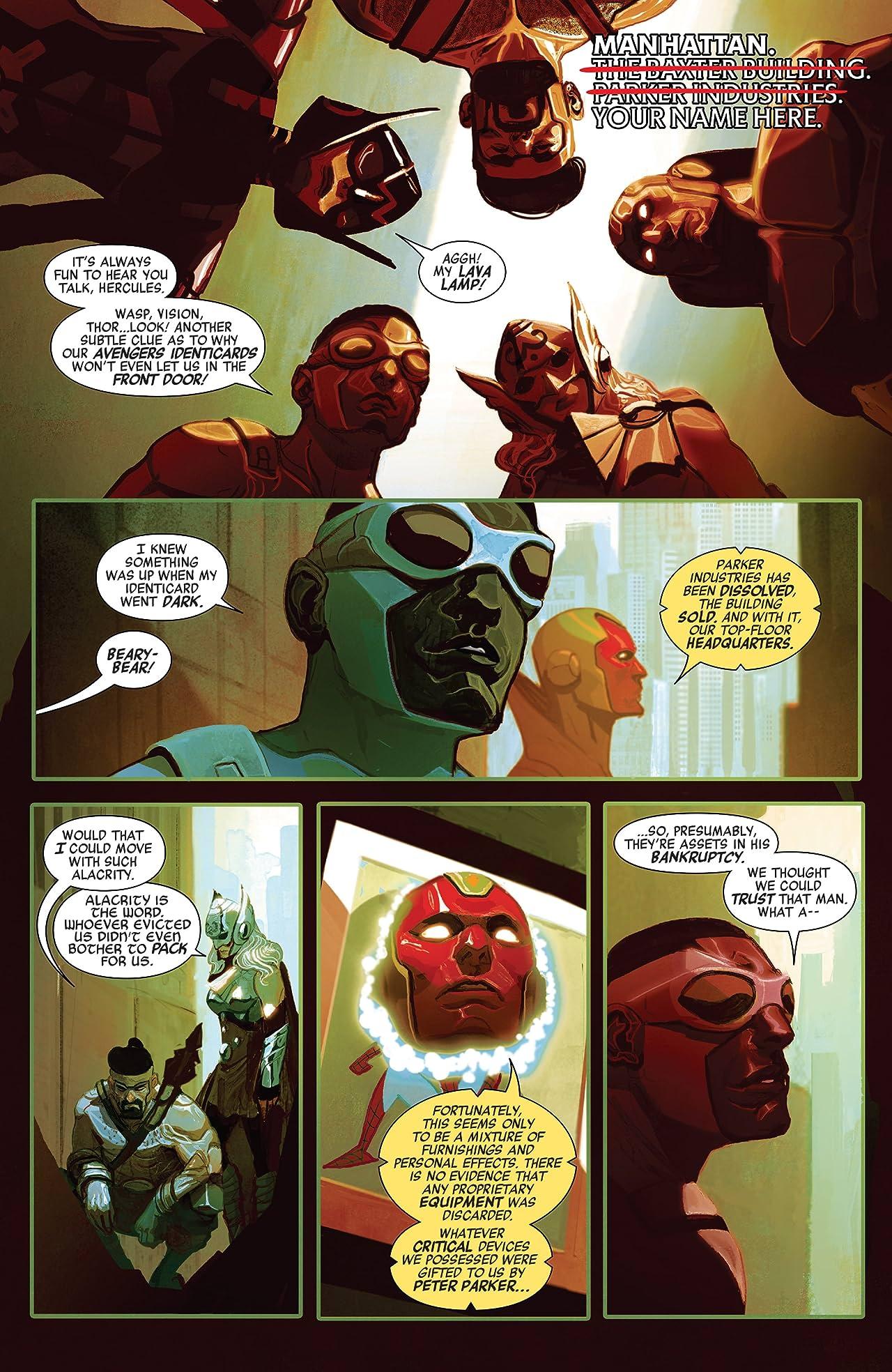 Avengers (2016-) #11