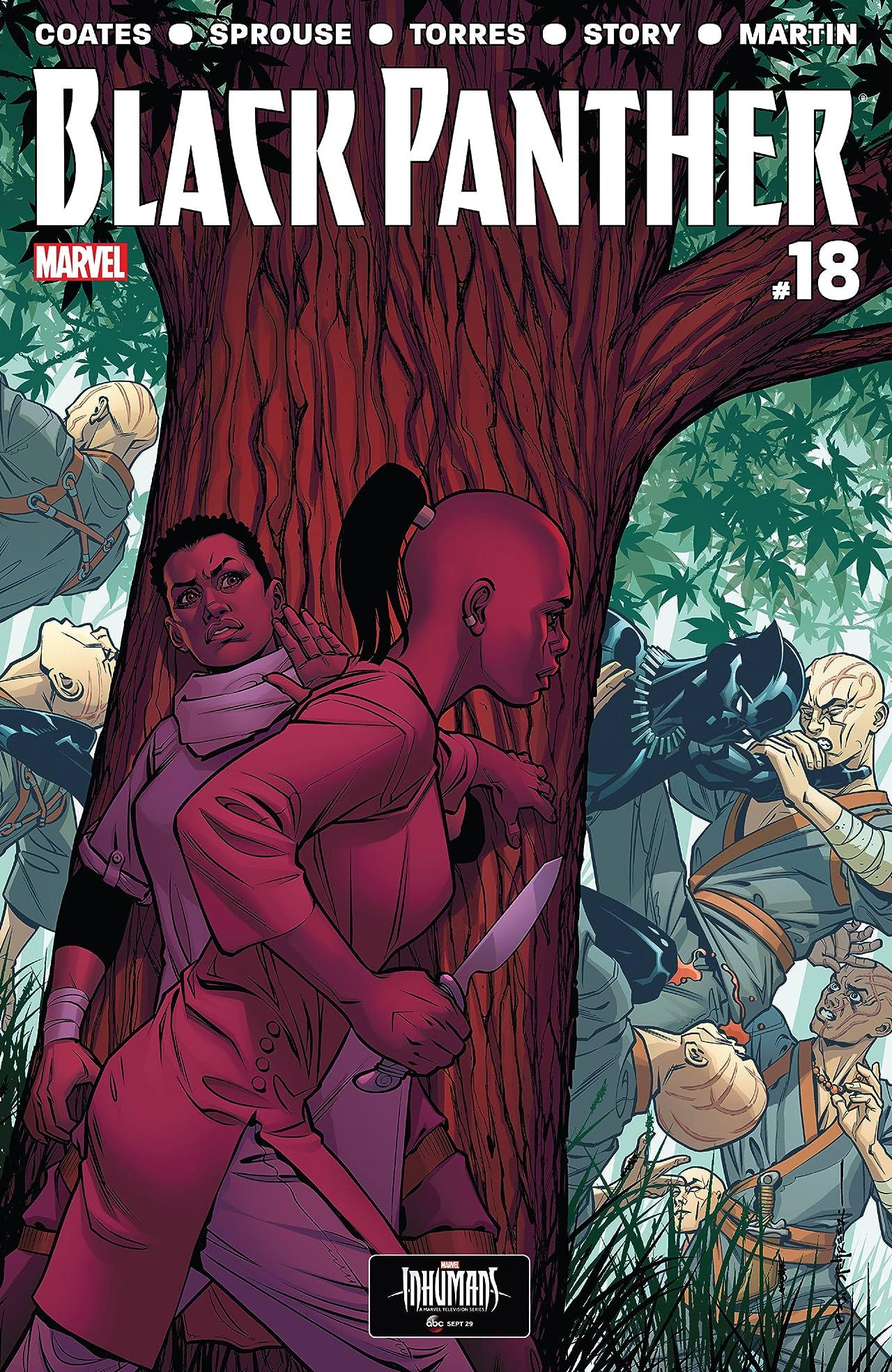 Black Panther (2016-2018) #18