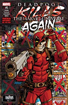 Deadpool Kills The Marvel Universe Again (2017) No.5 (sur 5)