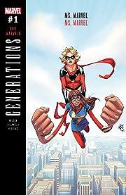 Generations: Ms. Marvel & Ms. Marvel (2017) #1