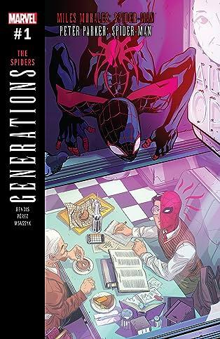Generations: Miles Morales Spider-Man & Peter Parker Spider-Man (2017) #1