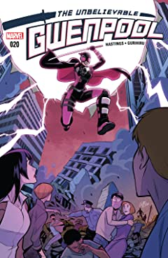 Gwenpool, The Unbelievable (2016-2018) No.20