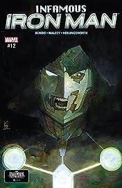 Infamous Iron Man (2016-2017) #12