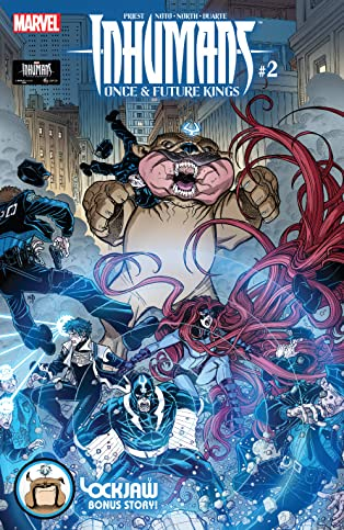 Inhumans: Once And Future Kings (2017) #2 (of 5)