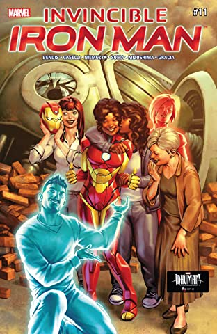 Invincible Iron Man (2016-) #11
