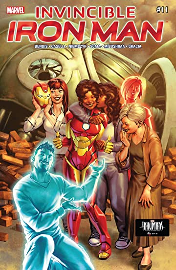 Invincible Iron Man (2016-2018) #11