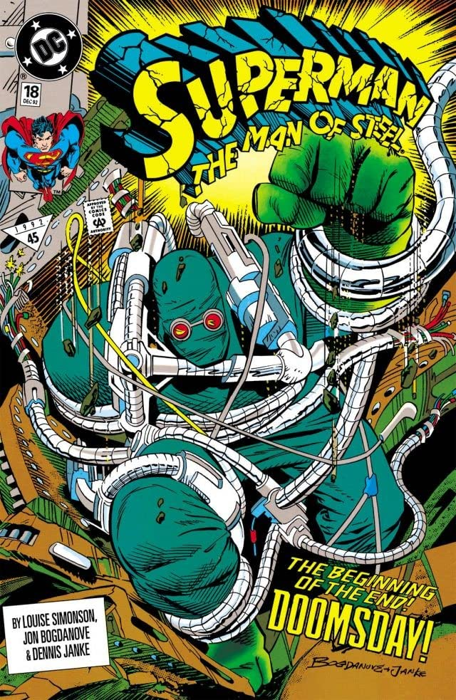 Superman: The Man of Steel (1991-2003) #18