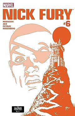 Nick Fury (2017) #6