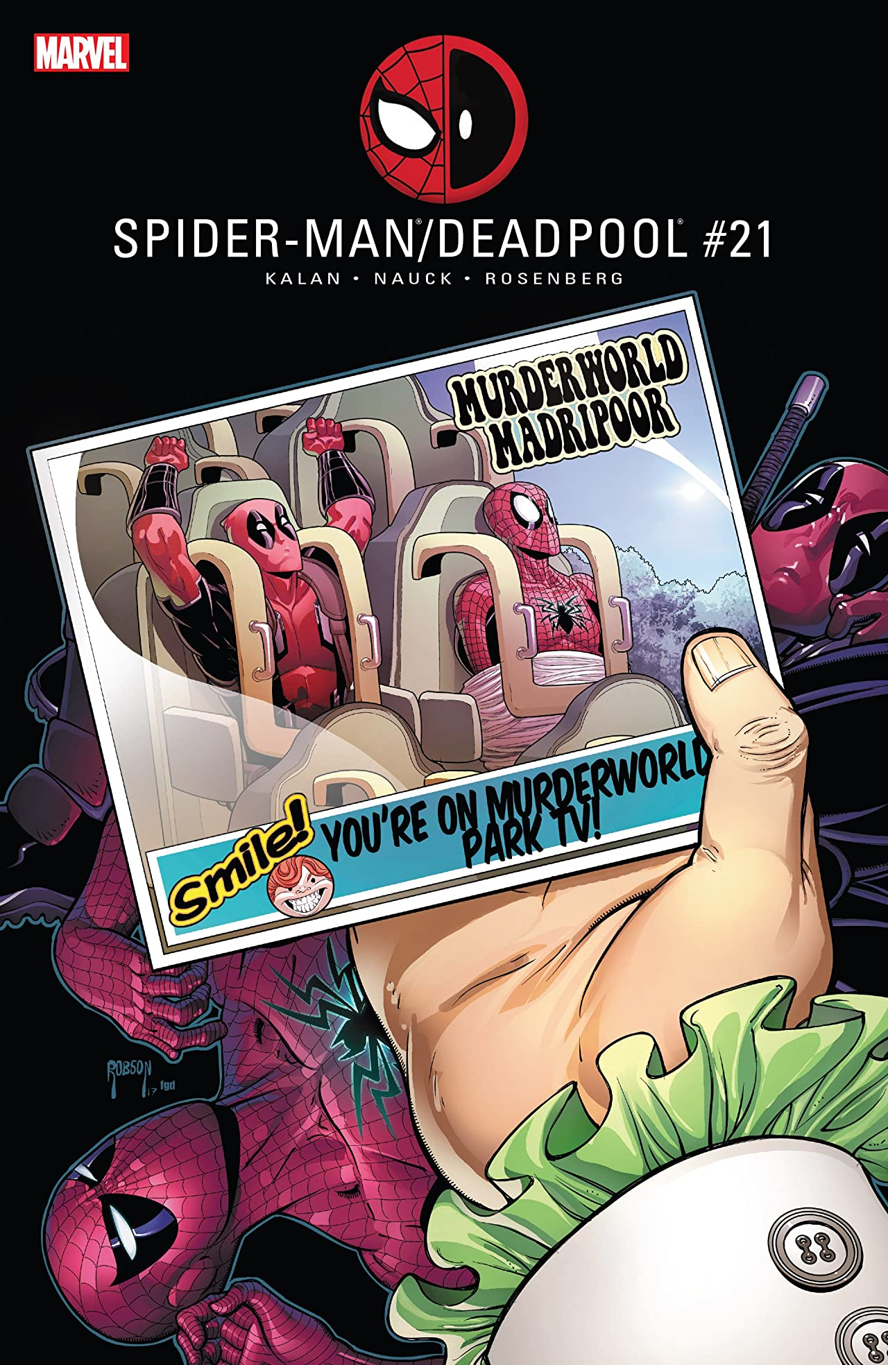 Spider-Man/Deadpool (2016-) #21