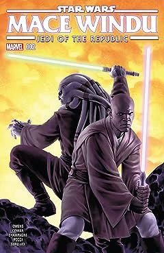 Star Wars: Jedi of the Republic - Mace Windu (2017) #2 (of 5)