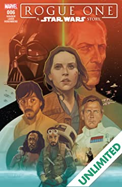 Star Wars: Rogue One Adaptation (2017) #6 (of 6)