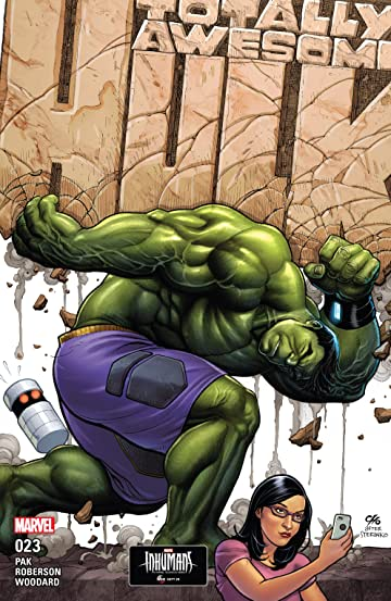 The Totally Awesome Hulk (2015-2017) #23