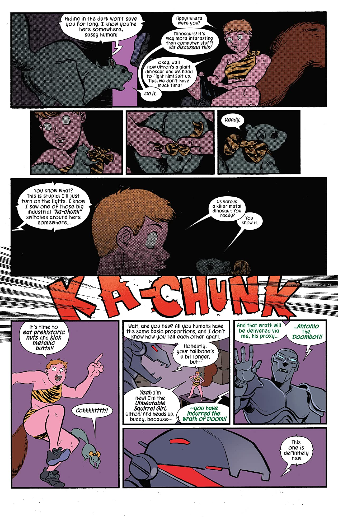 The Unbeatable Squirrel Girl (2015-) #24
