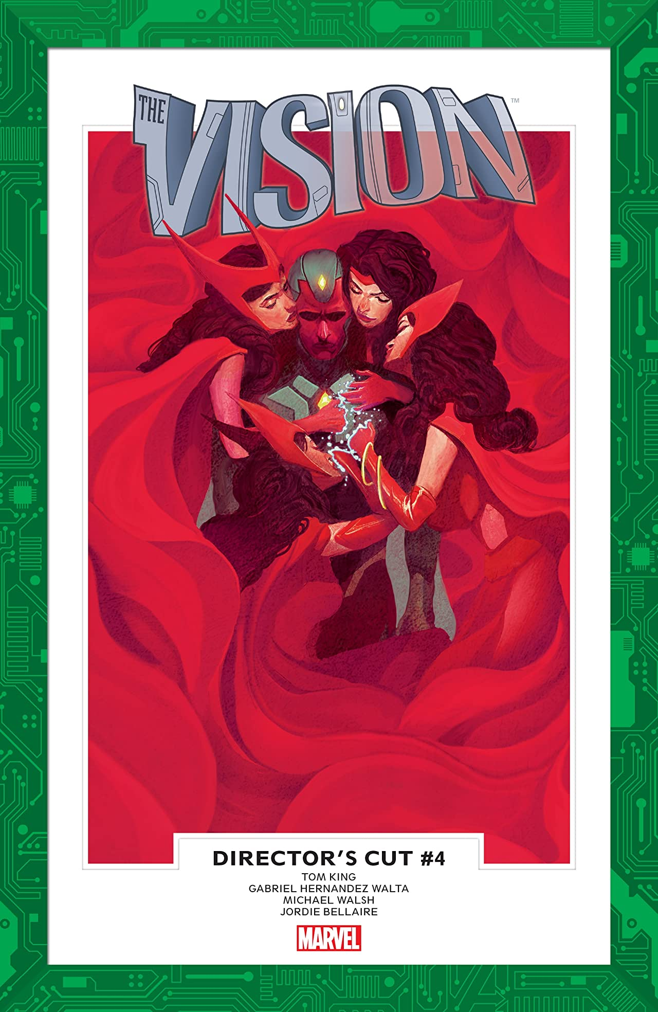 Vision: Director's Cut (2017) #4 (of 6)