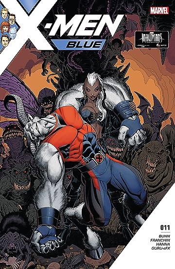 X-Men Blue (2017-) #11