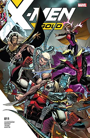 X-Men Gold (2017-) No.11