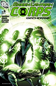 Green Lantern Corps: Recharge No.5 (sur 5)