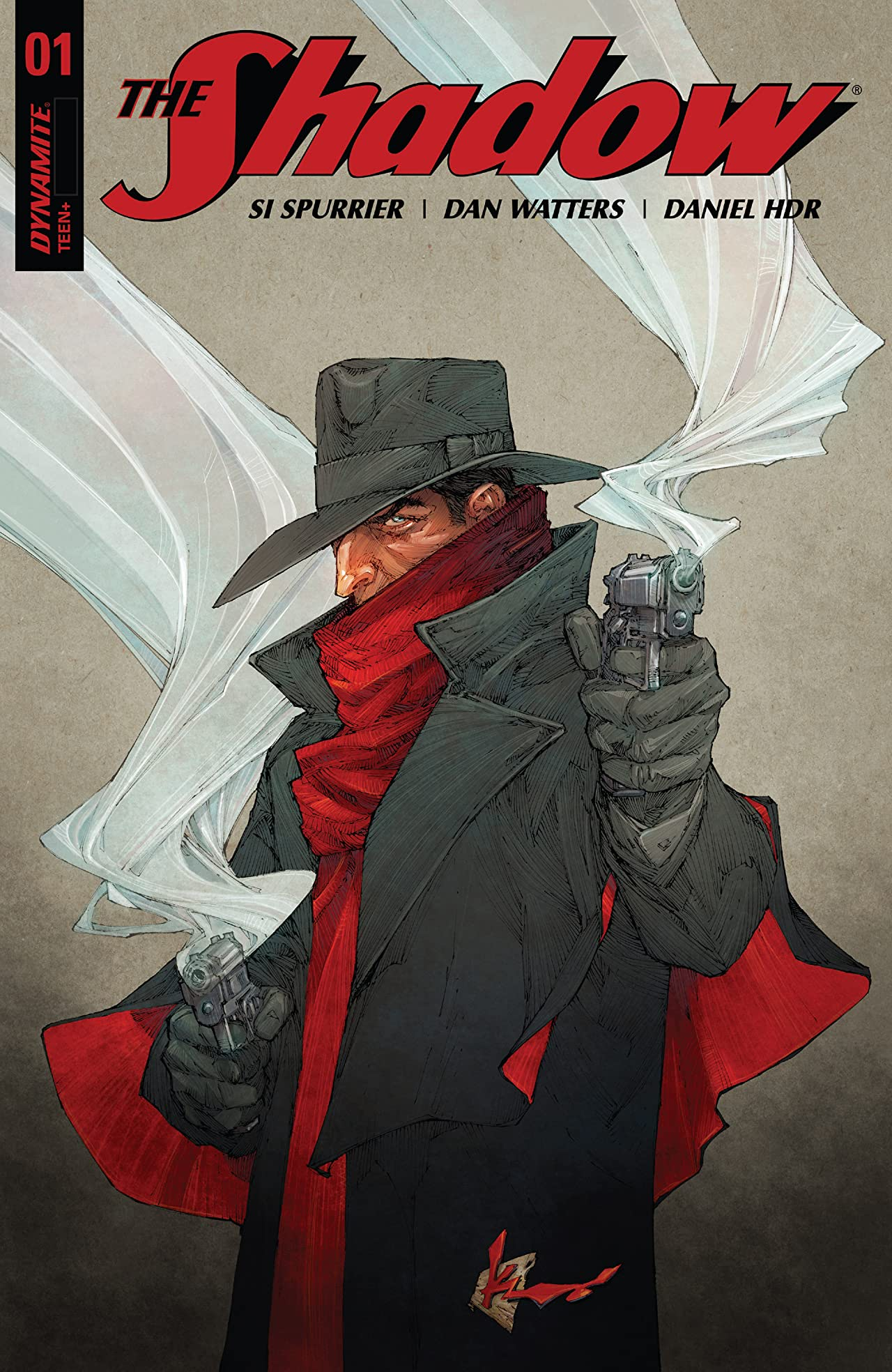 The Shadow (2017) #1