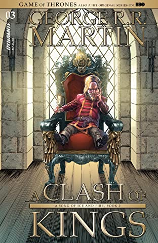 George R.R. Martin's A Clash Of Kings: The Comic Book No.3