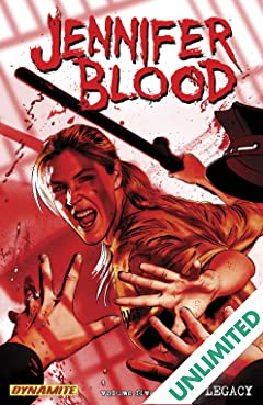 Garth Ennis' Jennifer Blood Vol. 5: Blood Legacy