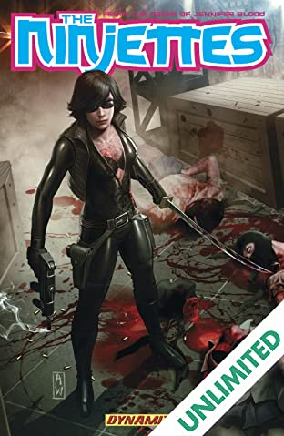 Garth Ennis' The Ninjettes Vol. 1