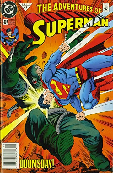 Adventures of Superman (1986-2006) #497