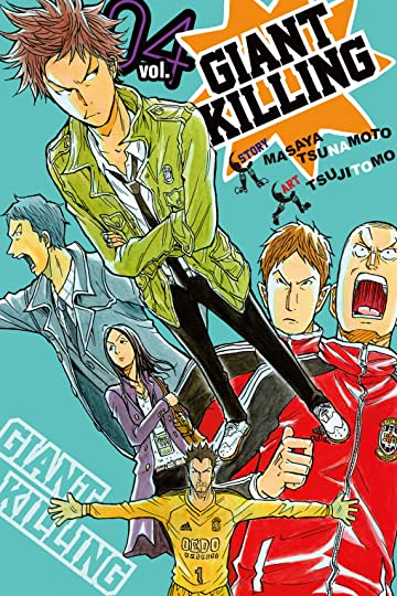 Giant Killing Vol. 4